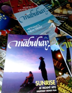 Part of my family's Mabuhay Magazine collection